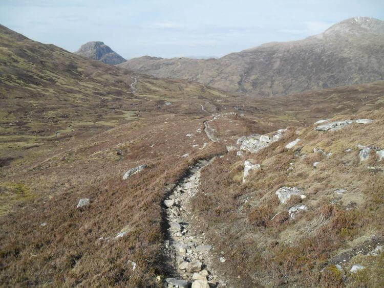 Lairig Leacach Downhill