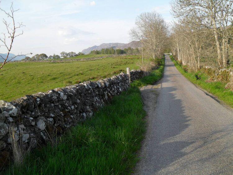 Auf Singletrack-Road geht es noch ein paar Kilometer gemütlich bis Fort Augustus. Der Ort hat etwas über 600 Einwohner und wurde im 18. Jahrhundert als Festung erbaut