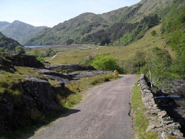 Der Firth von Kinloch Hourn