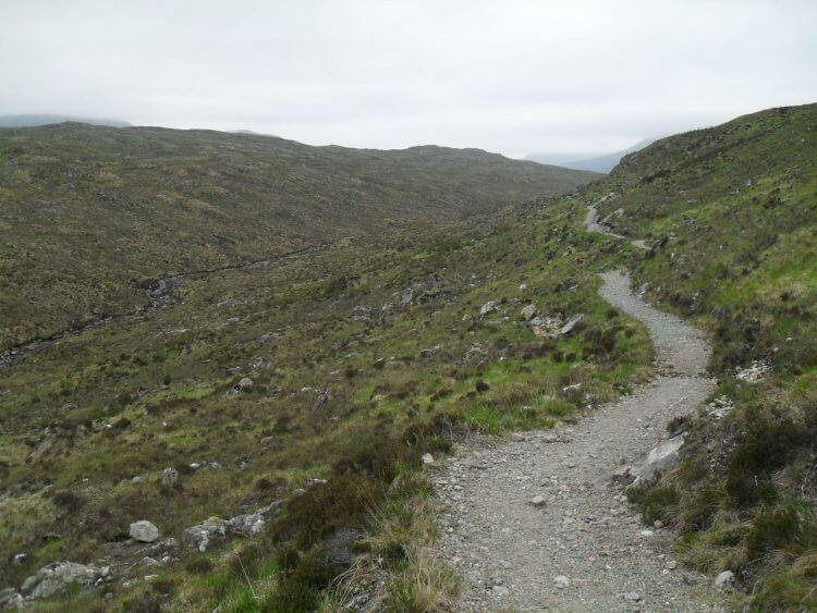 der dann in einen gut fahrbaren Trail übergeht