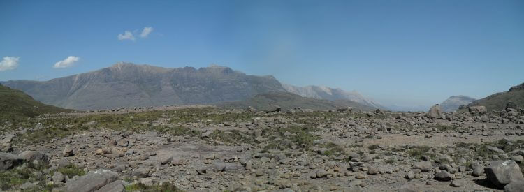 Blick ins nördliche Torridon mit dem Liatach-Massiv