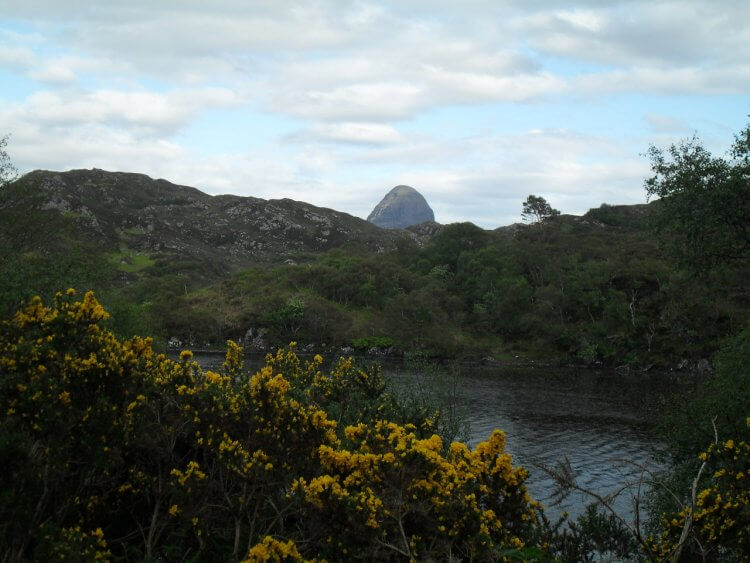 "<small>""...blaw saft amang thy leafy glens...""</small> <br/><br/> Suilven"