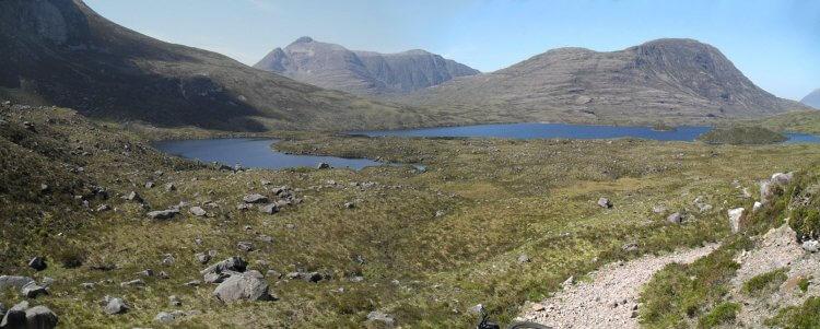 und entlang Loch an Eoin