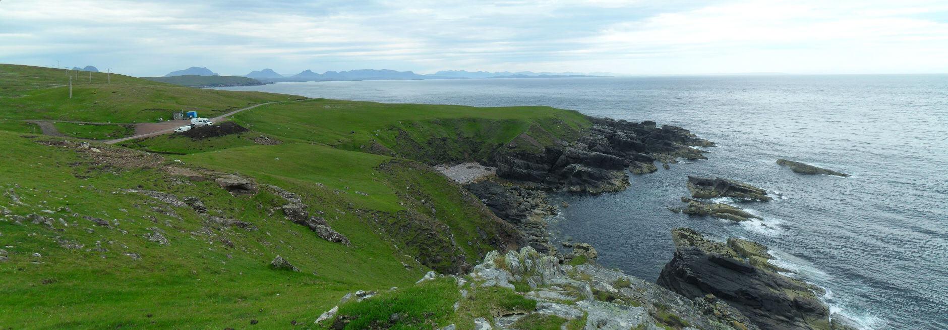 Blick vom Lighthouse nach Süden