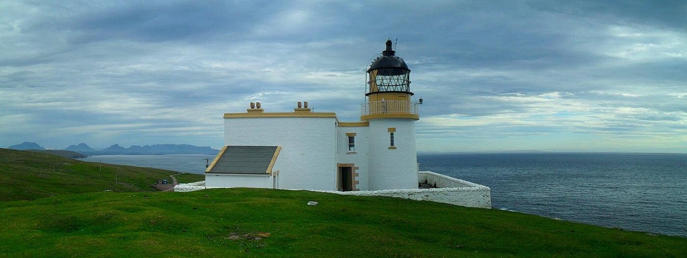 Aber alleine das von Brandung umtoste Stoer Lighthouse hat den Abstecher gelohnt